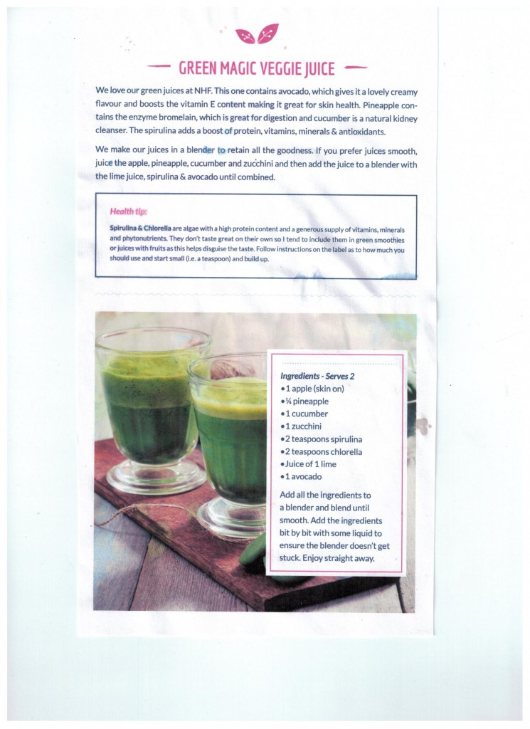 green veggie juice recipe